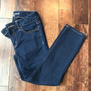American Eagle dark denim jegging